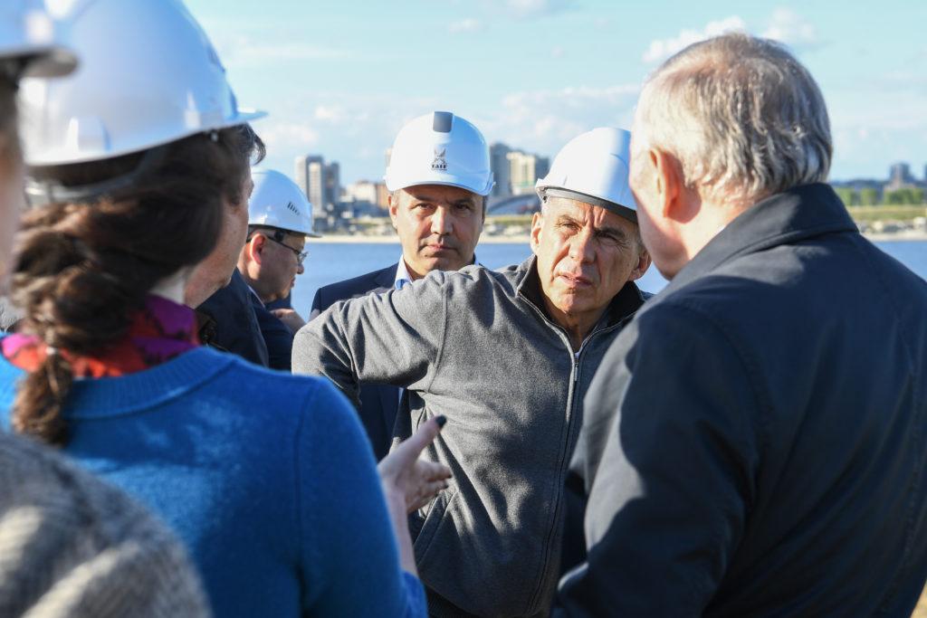 Минниханов предложил соединить площадку перед НКЦ сКремлевской набережной