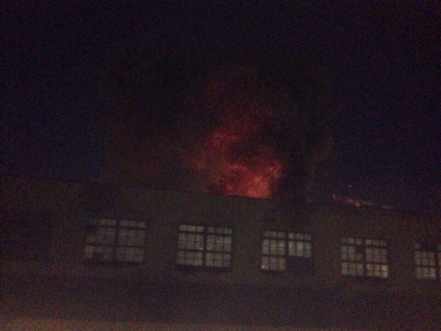Пожар произошел вКазани натерритории артиллерийского училища