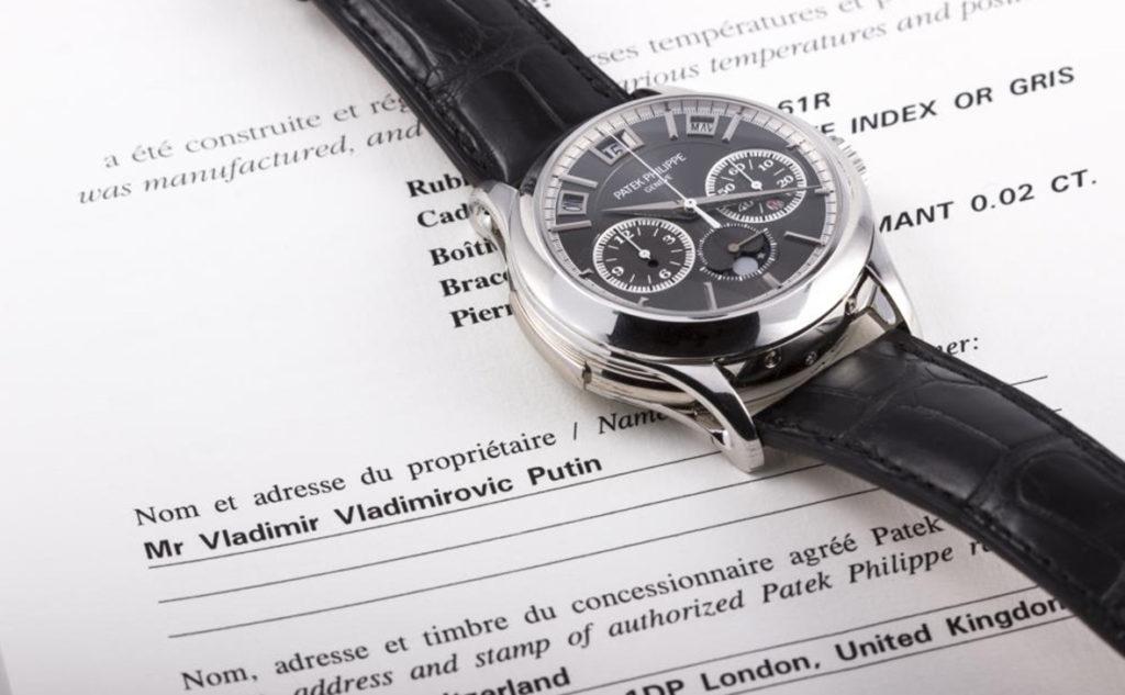 «Часы Путина» проданы нааукционе вМонако за1,054млневро