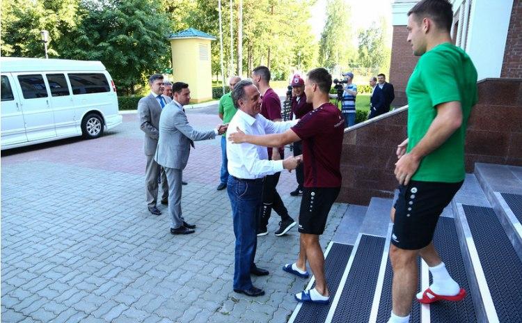 Вернувшийся в«Рубин» Бердыев проиграл 1-ый  официальный матч «Краснодару»