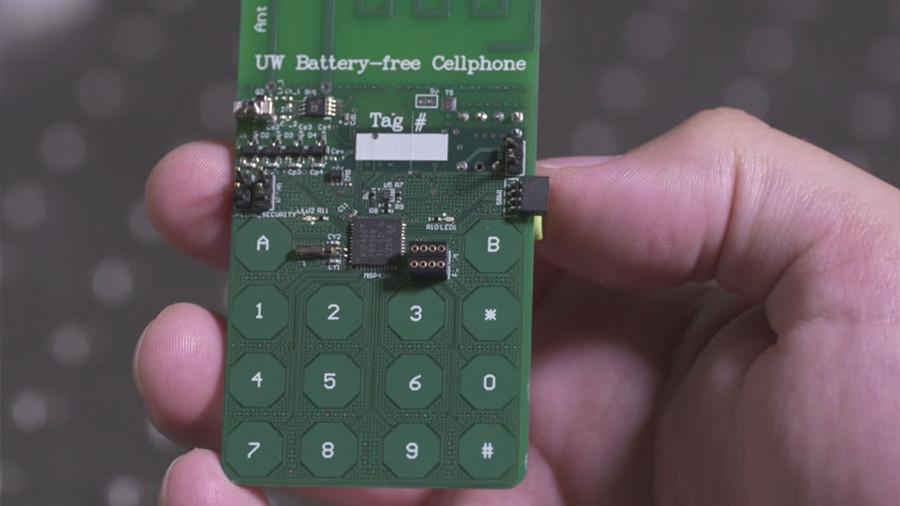Ученые разработали 1-ый мобильный телефон без аккумулятора