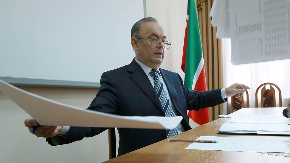 Экзам Губайдуллин оставляет пост руководителя ЦИК Татарстана