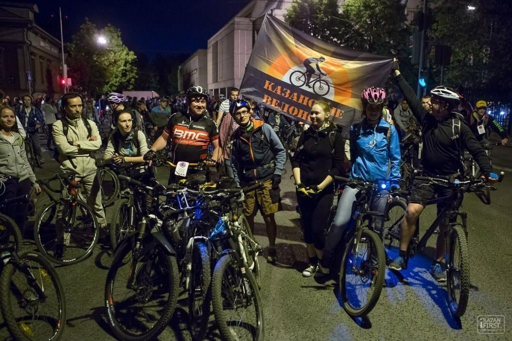 Сегодня вКазани состоится «Ночной велофест»