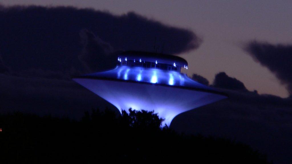 В Зоне-51 над Невадой заметили НЛО
