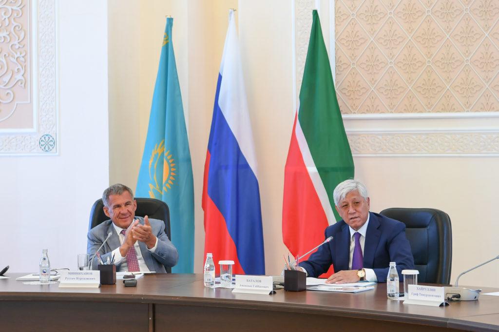 Минниханов провел прием вчесть наилучших семей Татарстана
