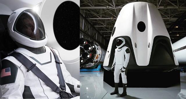 Илон Маск обнародовал фото скафандра SpaceX