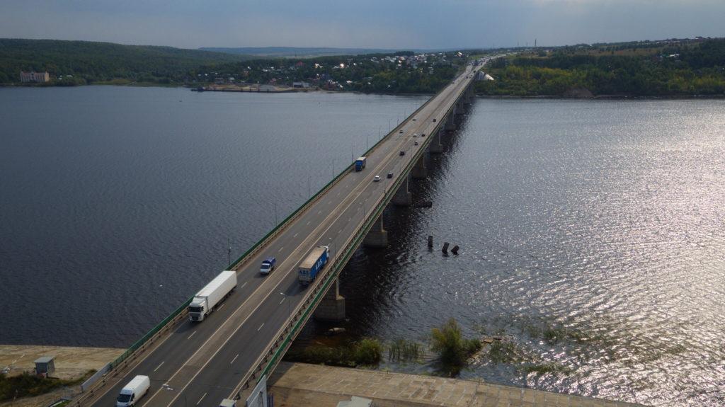 ВТатарстане завершили ремонт самого огромного моста через Волгу