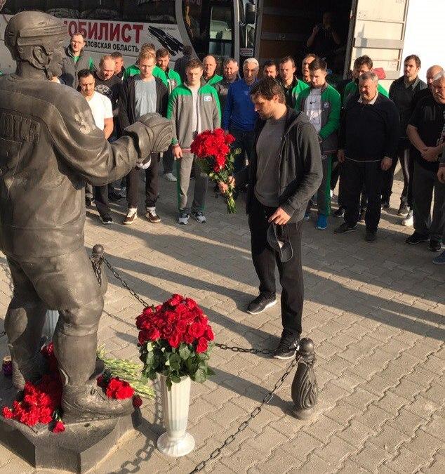 ВЯрославле почтили память погибшей команды «Локомотив»