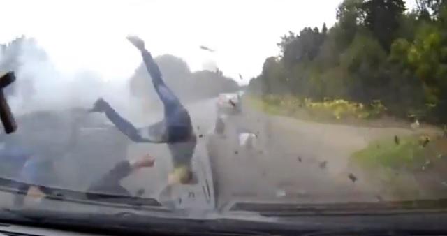 Двое погибли идвое ранены встолкновении четырех авто наСтаврополье