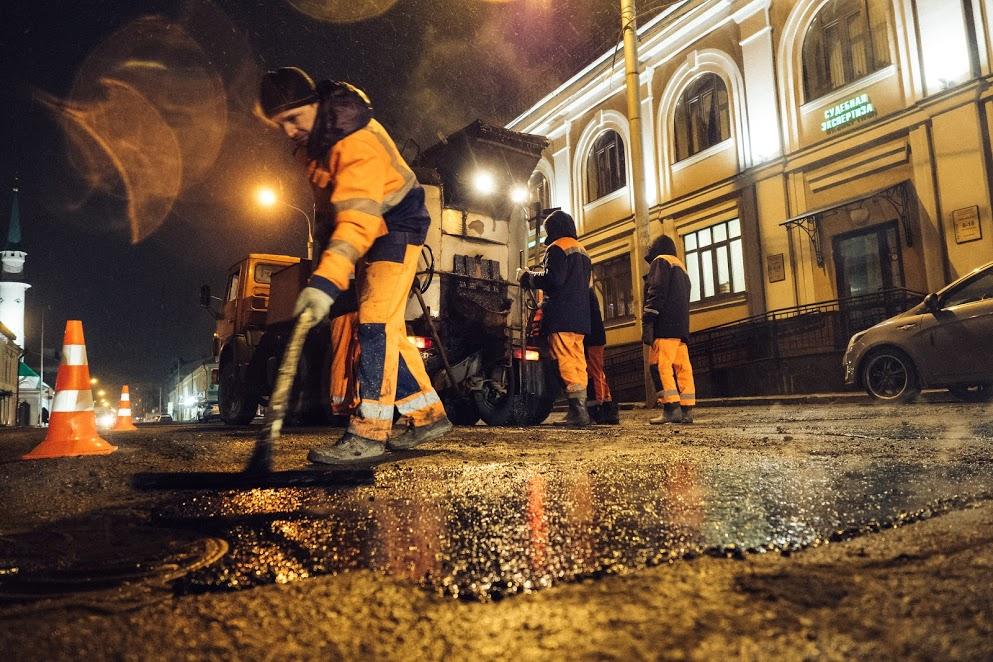 ВКазани зимой для обработки улиц будут использовать новый вид реагента