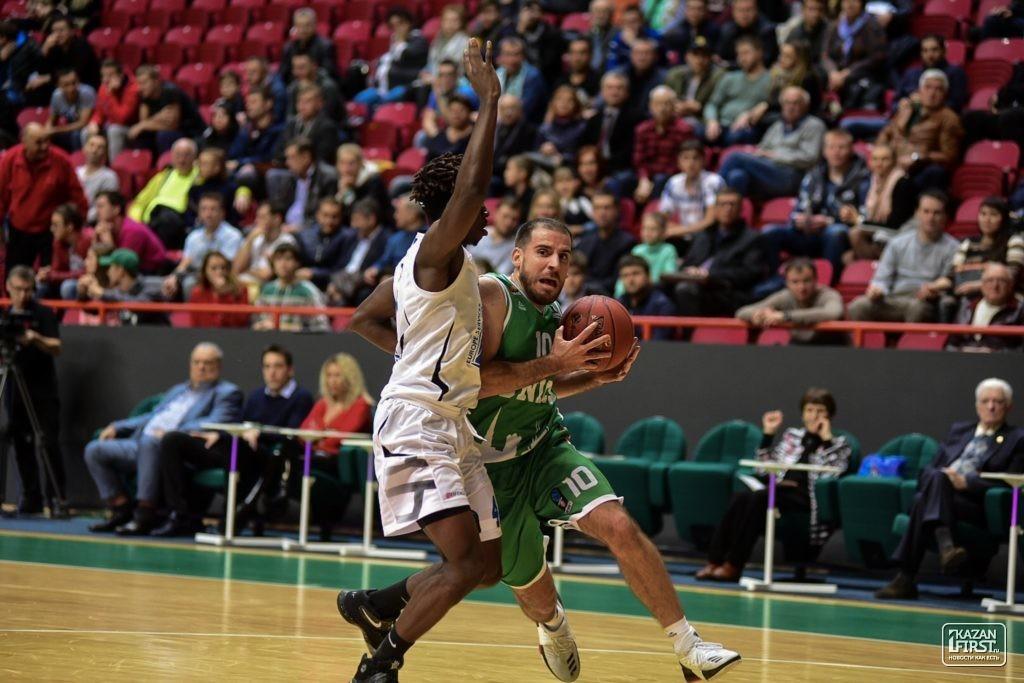 УНИКС одержал вторую победу подряд вбаскетбольном Еврокубке, обыграв «Леваллуа»