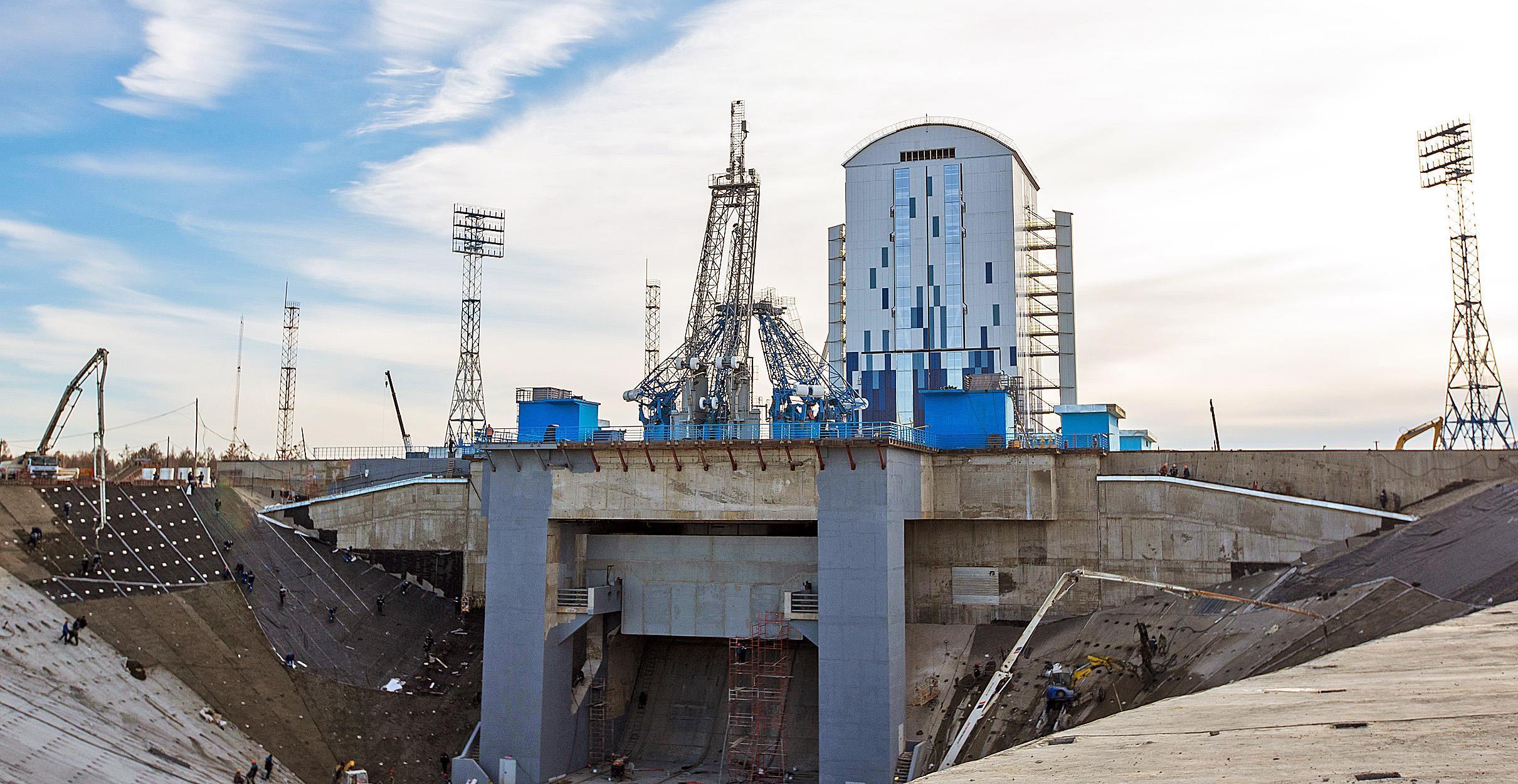 Строителя стадиона «Казань Арена» привлекут кработам накосмодроме «Восточный»