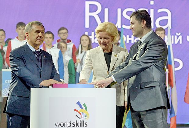Делегация Минтруда Дагестана посетила чемпионат мира WorldSkills вАбу-Даби