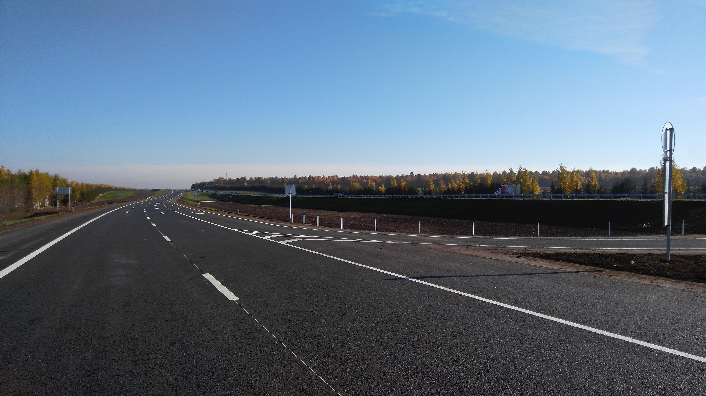 ВТатарстане открыли движение научастке дороги  М-7 «Волга»